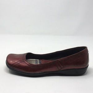 LIFE STRIDE RED FLATS 8.5W